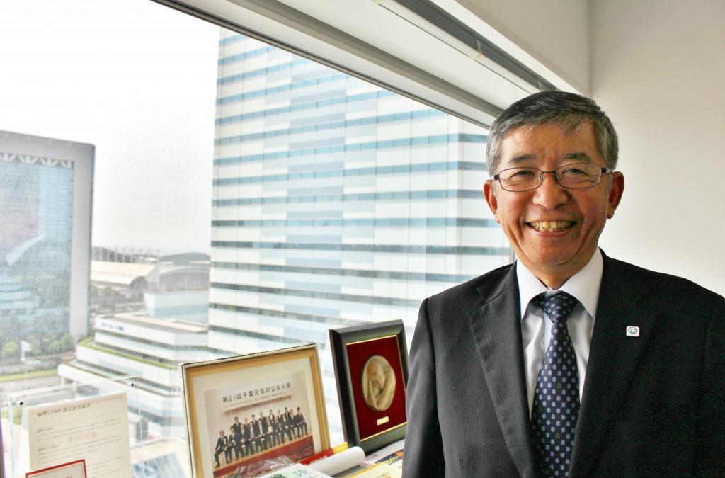 ビィー・トランセホールディングス株式会社 代表取締役 吉田 平氏